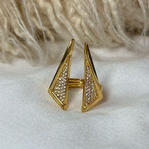 Vince Camuto | Gold Geometric Split Ring